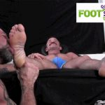 Foot-Hound-Marky-Sparks-Foot-Worship-Cum-Free-Gay-Porn-13-150x150 Muscle Stud Gets His Feet Worshiped And Drops A Load