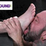 Foot-Hound-Marky-Sparks-Foot-Worship-Cum-Free-Gay-Porn-14-150x150 Muscle Stud Gets His Feet Worshiped And Drops A Load